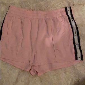 Pink Victoria Secret pink shorts. Size L New WOT